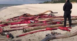 Калининградские полицейские конфисковали шесть лодок и внедорожник у дайверов за незаконную добычу янтаря