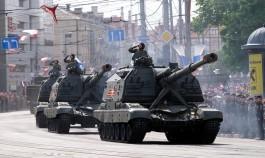 «В честь 74-й годовщины»: как в Калининграде прошёл парад Победы