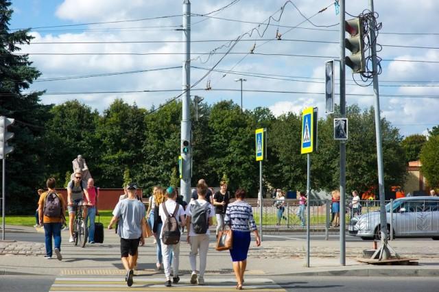 В центре Калининграда автомобилист распылил газовый баллончик в лицо водителю