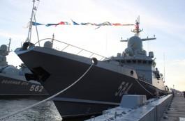 В 2021 году Балтийский флот усилят двумя ракетными кораблями «Буря» и «Град»