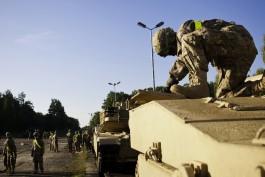 Боевая техника из США прибыла в бельгийский порт для отправки в Польшу