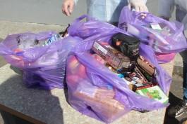 Калининградским школьникам начали выдавать продуктовые наборы