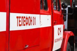 Пожарные спасли 12 человек из горящего гаража в Черняховске