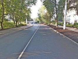 В Калининграде завершили капитальный ремонт улицы Инженерной