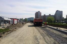 Ремонт улицы Автомобильной в Калининграде планируют закончить раньше срока