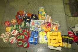В Калининградскую область пытались незаконно ввезти 43 кг мясомолочной продукции из Польши