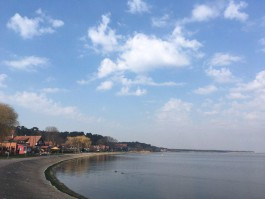 На переправе из Ниды в Клайпеду образовалась километровая очередь
