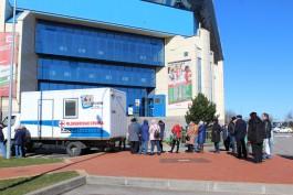 В Калининграде 115 человек прошли бесплатную флюорографию в передвижном медкабинете