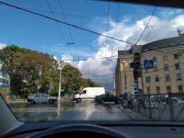 В центре Калининграда не работает несколько светофоров