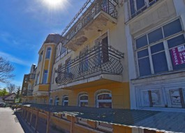 В Зеленоградске оштрафовали собственника за повреждение исторического здания отеля «Восточная Пруссия»