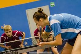 «Точное усиление»: калининградцы выиграли четыре медали домашнего чемпионата округа по настольному теннису