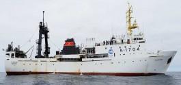 Судно «Атлантида» вернулось в Калининград из Антарктики после крилевой экспедиции