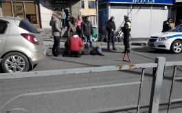 Очевидцы: На ул. Горького в Калининграде сбили девушку