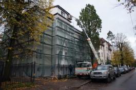 «Остались без газа»: в Калининграде жители немецкого дома почти полгода ждут окончания капремонта