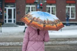 В выходные синоптики прогнозируют в Калининградской области снег с дождём
