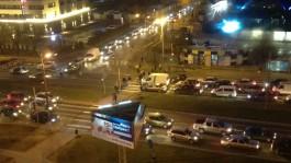 Из-за аварии на водоводе ремонтники частично перекрыли Московский проспект в Калининграде
