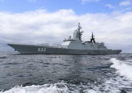 Отряд кораблей Балтфлота отправился в поход в Атлантический океан