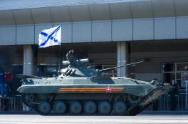 Во время парада 9 Мая по площади Победы в Калининграде пройдут более 70 единиц техники