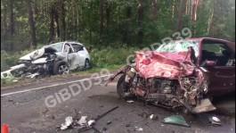 ГИБДД проводит проверку по факту лобового столкновения двух машин на трассе Калининград — Балтийск