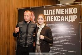 «За добро и саморазвитие»: боец Александр Шлеменко пообщался с почитателями в Калининграде