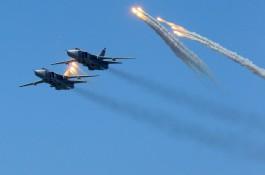 Самолёты морской авиации выполнили бомбовые удары на полигоне в Калининградской области