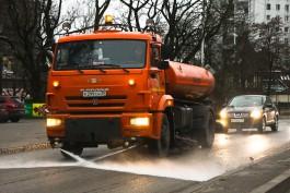 Мэр Калининграда распорядился перейти на зимний режим уборки улиц