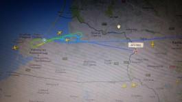 Самолёт из Москвы не смог приземлиться в «Храброво» из-за непогоды