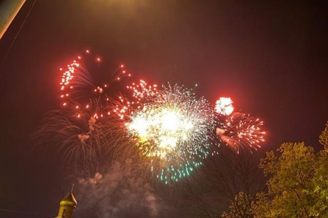 В Калининграде праздничный салют запустят в 22:00
