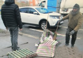 На улице Островского в Калининграде бомж обворовал две квартиры в расселённом доме