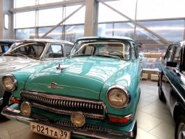 В аэропорту «Храброво» открыли выставку ретроавтомобилей