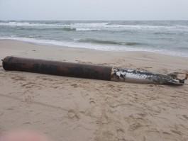 В немецкой торпеде на Балтийской косе обнаружили 238 кг взрывчатого вещества