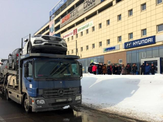 «Автотор» отправил первую партию легковых авто изКалининграда в Беларусь
