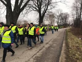 В Янтарном прошёл Марш жизни в память о жертвах Холокоста