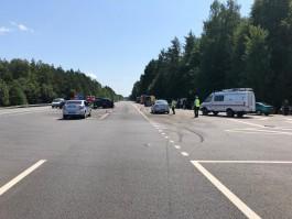 После смертельного ДТП на трассе Калининград — Нестеров перегородят опасный перекрёсток