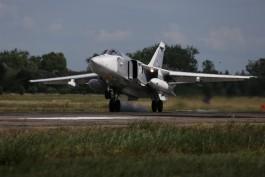 Бомбардировщики Балтфлота провели дозаправку в небе над Калининградской областью