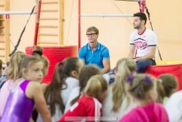 «Будьте смелее»: в Калининграде прошёл семинар мастеров спортивной гимнастики