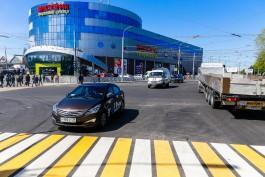 «283 дня ремонта»: в Калининграде полностью открыли движение по улице Киевской