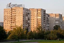 С восьмого этажа дома на Московском проспекте в Калининграде рухнула часть балкона