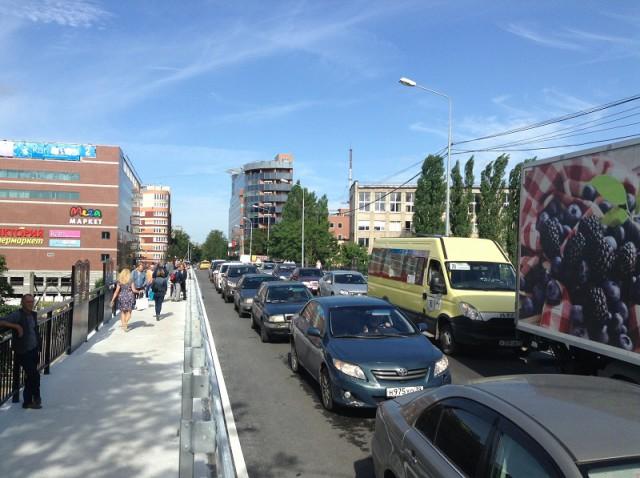 ВКалининграде открыли движение попутепроводу наулице Озерова