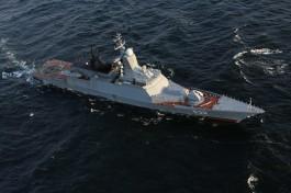 Корабли Балтфлота провели в море учебные ракетные стрельбы
