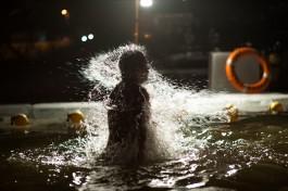«Мороз без солнца»: как прошли крещенские купания в Калининграде