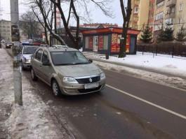 На улице Озёрной в Калининграде «Рено» насмерть сбил пенсионерку