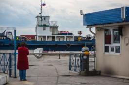 В Балтийске закрыли паромную переправу на косу из-за сильного ветра