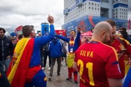 «Двойной удар»: что происходит в Калининграде в день матчей Россия — Уругвай и Испания — Марокко