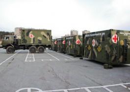 В Калининградской области построили автономный полевой лагерь Балтфлота на 200 человек