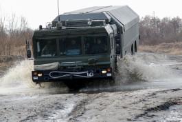 На побережье Балтийского моря провели тренировку по развёртыванию ракетных комплексов «Бастион»