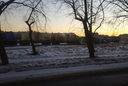 КЖД: Цистерны сошли с рельсов на улице Портовой во время маневровых работ