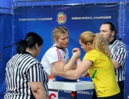 Жительница Калининграда выиграла серебро чемпионата России по армспорту