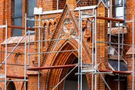 В Славске приостановили реконструкцию кирхи Хайнрихсвальде