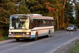 Автобус Калининград — Зеленоградск остановили из-за сообщения об угрозе для жизни пассажиров